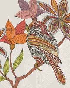 sketch of bird