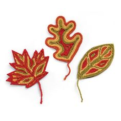 Autumn Leaves Yarn Craft for Kids: via Spoonful.com
