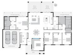 Mcdonald jones homes - lyndhurst Family House Plans, Bedroom House Plans, New House Plans, Dream House Plans, House Rooms, House Floor Plans, The Plan, How To Plan, Mcdonald Jones Homes