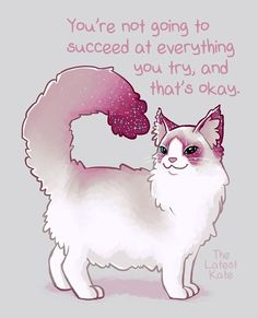 """798 Likes, 4 Comments - @thelatestkate on Instagram: """"#cat #mentalhealth #encouragement #selfcare"""""""