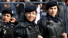 Soldado mulher. Turquia.