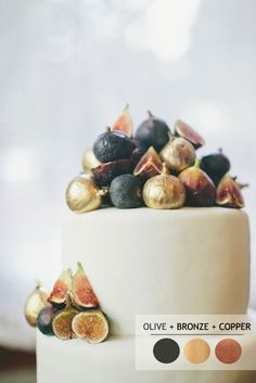 Black olive bronze copper - 18 Fall wedding palettes   Autumn wedding colour…