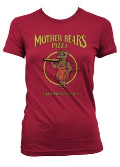 Icons of Bloomington - Mother Bears Pizza Junior/Ladies Tee | T.I.S. College Bookstore @ Indiana University