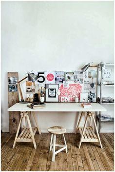 Emérita Desastre: 10 espacios de trabajo con Ikea Finnvard