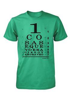 Ahora veo con Jesus Camiseta Cristiana (http://www.aprojes.com/ahora-veo-con-jesus-camiseta-cristiana/)