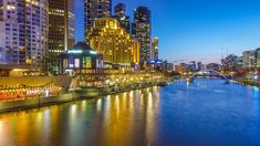 One highlight of our Melbourne trip and an activity I highly recommend for anyone going to Melbourne was a dinner cruise on the Yarra River.   This photo is not...