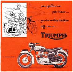 1967 TRIUMPH 650 BONNEVILLE THRUXTON A3 POSTER AD ADVERT ADVERTISEMENT