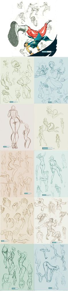 Figure, Female, Character Design