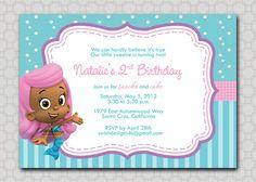 Google Image Result for http://img3.etsystatic.com/000/0/5225167/il_fullxfull.330659447.jpg birthday parti, bubble guppies invitation, birthday idea, birthday invitations, guppi birthday, bubble guppies birthday, 2nd birthday, 1st birthdays, bubbl guppi