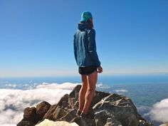 Krupicka on the Taranaki Summit    Source: Riding the wind (Anton Krupicka)