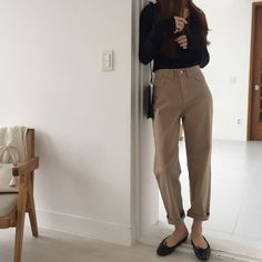 Basic Outfits, Korean Outfits, Simple Outfits, Classy Outfits, Winter Fashion Outfits, Modest Fashion, Trendy Fashion, Autumn Fashion, Womens Fashion