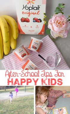 Check out our after-school routine and see what keeps the kids happy, featuring #Yoplait yogurt from @walmart. #CalciYUM #ad