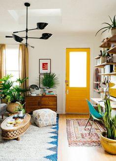 GroB Wohnzimmer Frühlingsdeko Ideen