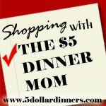 the five dollar dinner mom