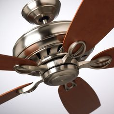 Emerson Penbrooke Select Brushed Steel 351 Piece -- Find out more about the great product at the image link-affiliate link. Transitional Ceiling Fans, The Selection, Steel, Modern, Blade, Image Link, Design, Kit