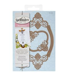 Now you can easily create beautiful die-cuts using the Spellbinders Nestabilities Pack Of 2 Decorative Elements Dies-Victorian Bow. With the 3-in-1 functions of this set of dies, you can cut, emboss a