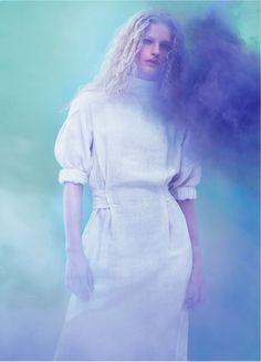 Frederikke Sofie, Julia Bergshoeff, Lineisy Montero, Vanessa Moody by Mario Sorrenti for Zara Spring Summer 2016 3