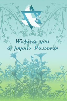 Wishing all those who celebrate a happy passover. Happy Passover