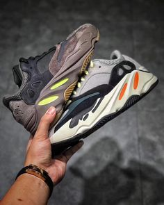 "dd7a123909fa8 Fred Chen on Instagram  ""Street Fashion👉Yeezy Boost 700 Waverunner   Mauve  DM me if interested US Size 4-13  adidaskanyewest  boostheaven   complexkicks…"""