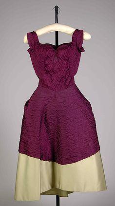 Evening dress Marguery Bolhagen  Date: 1966 Culture: American Medium: Silk Accession Number: 2009.300.7506