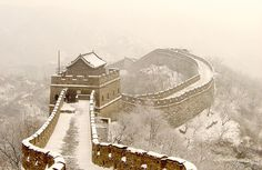 The Great Wall in Badaling, Beijing Beijing Badaling (八达岭) is the site of the most visited section of the Great Wall of China. Places To Travel, Places To See, Places Around The World, Around The Worlds, Study In China, Great Wall Of China, Amazing Adventures, The Great Outdoors, Beijing