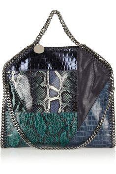 Stella McCartney|The Falabella convertible faux leather shoulder bag |NET-A-PORTER.COM