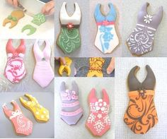 Bathing Suit Cookies - Lindy's Cakes