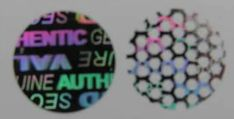 12MMDNV - 12MM DIAMETER CIRCLE SILVER HOLOGRAM LABEL Hologram Printing, 3d Hologram, Holographic, Hologram Stickers, 3 D, Decorative Plates, Silver, Google Search, Money