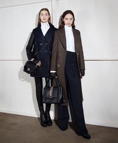 These coats....from Karl Lagerfeld.