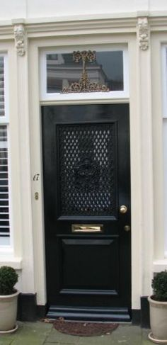 voordeur in ons jaren 30 huis! Love it!!