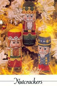 Nutcrackers Ornaments Holiday Cross Stitch Patterns | eBay