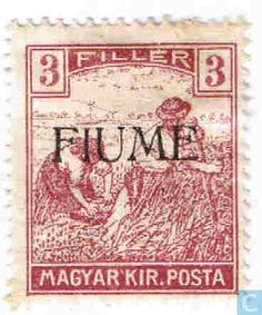 Stamps - Fiume - Snijders