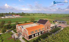 De Arendshoeve in Oosthuizen (locatie Seevancksweg). Ook hier wonen cliënten en volgen zij dagbesteding. Deze fraaie foto is aangeleverd door Jeroen van Vliet :-)