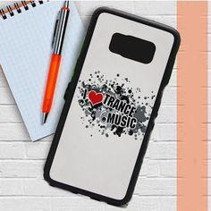 I Love Trance Music Samsung Galaxy S8 Plus Case Dewantary