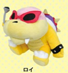 "Amazon.com: Super Mario Plush Series Plush Doll: 6"" Roy Koopa: Toys & Games"