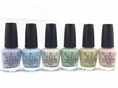 OPI Nail Polish Soft Shades Pastel 2016 Collection Pick Any Color  | eBay