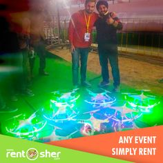 Another fabulous event by RentSher - Lighting by #Drones for Sixth #Kabaddi_world_cup Inaugural held at #Punjab on 17th November'2016. Trial Run conducted on16th November. http://bit.ly/2fwtGEm
