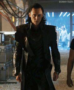 Loki walks like a giant cat. He's so swag ❤️.