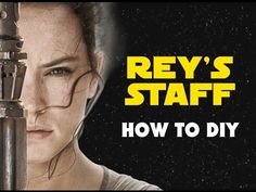 Rey's staff is the weapon of choice for the scavenger on the desert planet of Jakku. Here I will guide you through making your own staff to protect yourself .