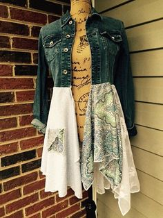 Denim Jacket Repurposed