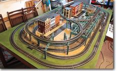 It has been said that collecting classic toy trains in the world's greatest hobby. Many of today's collectors received their first toy train set when they were young, often as a Christmas or birthday present. N Scale Model Trains, Model Train Layouts, Lionel Trains Layout, Ho Scale Train Layout, Model Training, Model Railway Track Plans, Electric Train, Models, Train Set