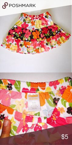 💥Editor's Pick💥 Gymboree Gymboree 18-24M floral skirt 💕Perfect for your little rose ❣Freshly laundered, only ever used baby detergent   💜No flaws, Excellent condition  💙Smoke free home   💚Shop on and bundle this with other great finds for an awesome deal!    💛Be sure to Like, Share, Follow, and ask any questions!  Thanks for visiting my closet!    ❤️All proceeds go to Giovanni's college fund and pool fund so he has something fun for his next Florida summer!😃Shipping level set for…