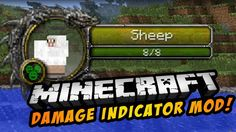 Damage Indicators Mod for Minecraft 1.7.10