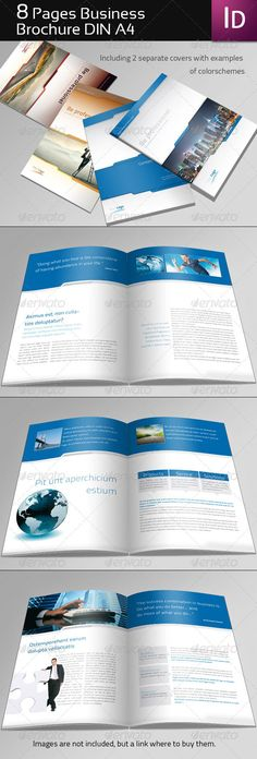 8 Page Business Brochure - GraphicRiver Item for Sale