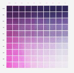 Riso colour charts  http://www.weareconstance.org/printing/
