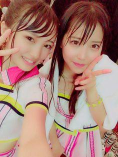 """向井地美音さんのツイート: """"グラマシーステージ最終日! 最後まで暑すぎ濡れすぎのライブでした(((o(*゚▽゚*)o))) 残りシアター2公演、、…"""