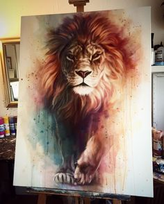 "NEW Wildlife painting finished. 'Pride'  original oil on 30""x40"" canvas.  #wildlifeart #lionart #lion #artist #oil #acrylic #art #painting #paper #pen #pencil #artsy  #beautiful #instagood #gallery #creative #photooftheday #graphic #graphics #artoftheday"