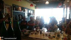 """Aquí estamos en @fastabestpasta participando del taller """"La buena hamburguesa"""" dictado por @luismartinezchef y el acompañamiento de @cervezaespartana  #EventosEnLaIsla  #Venezuela"""