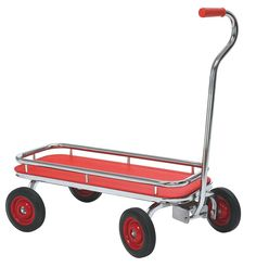 Everyone loves a classic wagon! The SilverRider® Wagon is just that but with a modern flair. Haul your children or load your wagon with cargo. It's durable chrome plating and welded steel frame ensure long-lasting fun!