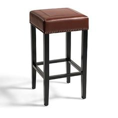 Callie Leather Bar Stool  $99 each on Grandin Road